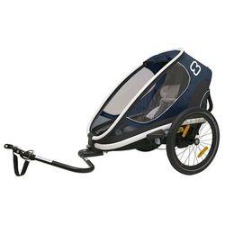 HAMAX przyczepka rowerowa Outback ONE rama + wózek navy blue