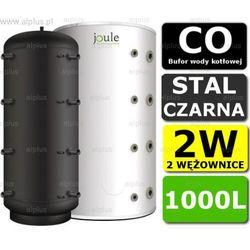 BUFOR JOULE 1000L 2W zbiornik buforowy akumulacyjny CO z 2 wężownicami Wysyłka gratis!