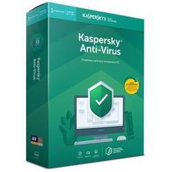 Program Kaspersky Anti-Virus 2019 (1 urządzenie, 1 rok)