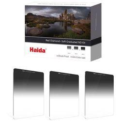 Zestaw filtrów połówkowych szarych Haida Red Diamond Soft (100x150)