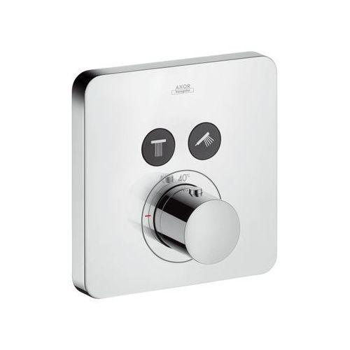 Hansgrohe bateria termostatyczna ShowerSelect do 2 odbiorników, montaż podtynkowy, element zewnętrzny 36707000