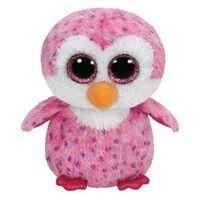 Pozostałe lalki i akcesoria, Beanie boos glider - pink penguin 15 cm