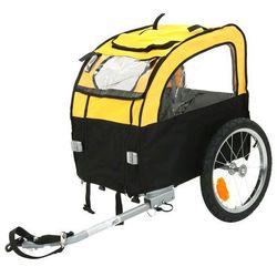Mini Bee przyczepa rowerowa - dł. x szer. x wys.: 105 x 58 x 73 cm / do 25 kg | Dostawa GRATIS! 140785
