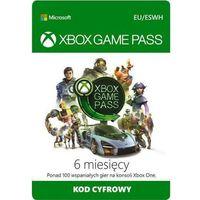 Klucze i karty pre-paid, MICROSOFT Xbox Game Pass 6 Miesięcy