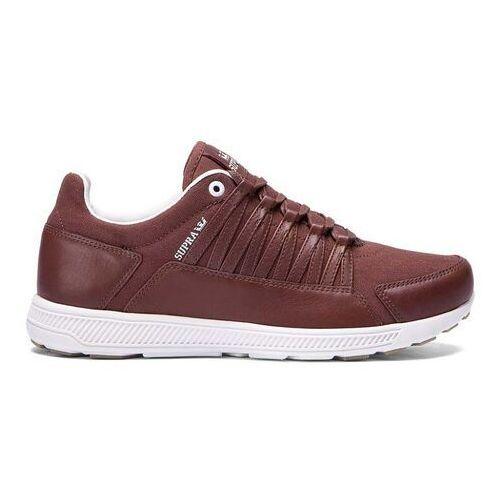 Męskie obuwie sportowe, buty SUPRA - Owen Chocolate - Off White (CHO)