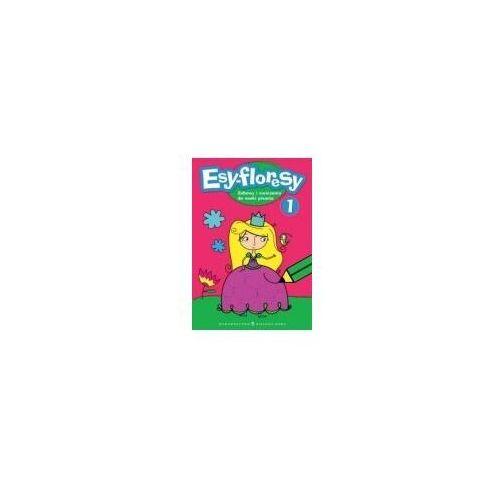 Książki dla dzieci, Esyfloresy 1 różowy (opr. miękka)
