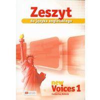 Książki do nauki języka, Język angielski, klasa 1-3, New Voices 1, zeszyt, Macmillan (opr. broszurowa)