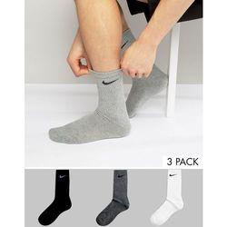 Nike 3 Pack Crew Socks In Multi SX4700-901 - Multi