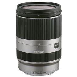 Tamron AF 18-200 mm f/3,5-6,3 Di III VC (srebrny) Canon EOS-M