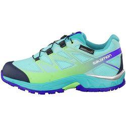 Nowe buty Salomon Wings CSWP J Bubble Blue/Teal Blue, rozmiar 37/22.5 cm