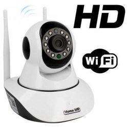 Kamera Bezprzewodowa IP/WIFI (cały świat!!), Obrotowa, Dz.-Nocna z Fonią + Zapis + Powiadomienia...