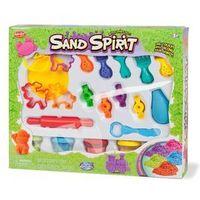 Kreatywne dla dzieci, SAND SPIRIT Zestaw duży zwierzęta (MX0103632 RUSSEL)