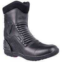 Buty motocyklowe, Skórzane buty motocyklowe W-TEC Bangoff NF-6052, Czarny, 47