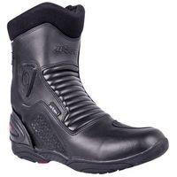 Buty motocyklowe, Skórzane buty motocyklowe W-TEC Bangoff NF-6052, Czarny, 44