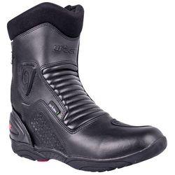 Skórzane buty motocyklowe W-TEC Bangoff NF-6052, Czarny, 47