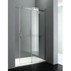 DRAGON drzwi prysznicowe do wnęki 140cm GD4614