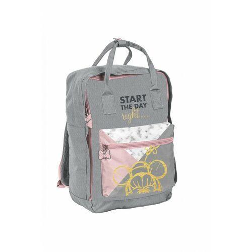 Tornistry i plecaki szkolne, Plecak młodzieżowy Minnie szary 3Y38E6 Oferta ważna tylko do 2031-09-08