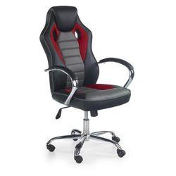 Fotel SCROLL czarny/popielaty