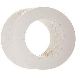 Osłonka papierowa na puszkę wosku 100szt