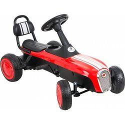 Gokart na pedały KIDZ MOTION RETRO jeździk dla dzieci 3-8 lat Czerwony + DARMOWY TRANSPORT!