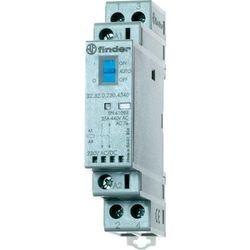 Stycznik modułowy 2 polowy Auto-On-Off+ LED, 1NC+1NO 25A 230V AC/DC, 22.32.0.230.4540