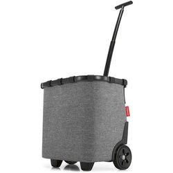 Reisenthel Carrycruiser wózek na zakupy / ROE7052 / Twist Silver - Twist Silver