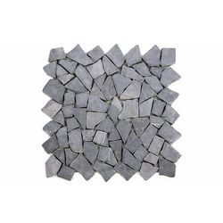 Mozaika marmurowa Garth na siatce szara 1 m2