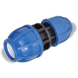 vidaXL Złączki zaciskowe PE, reduktory 16 bar 25> 20 mm Darmowa wysyłka i zwroty