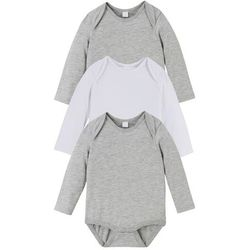Spodnie niemowlęce z polaru bonprix niebieski dżins