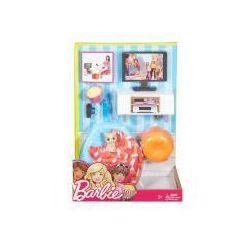 Barbie Mebelki i akcesoria. Pokój telewizyjny