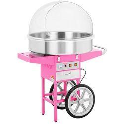 Maszyna do waty cukrowej - 72 cm - wózek - pokrywa