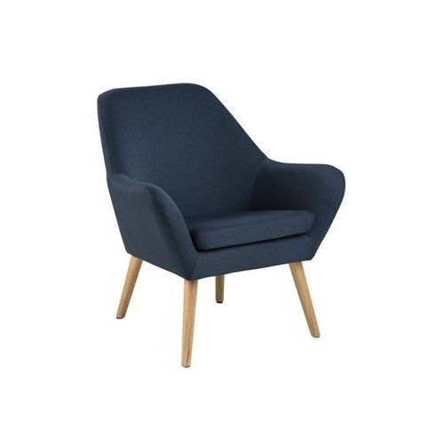 Fotele, Fotel Astro Dark Blue MODERN HOUSE bogata chata