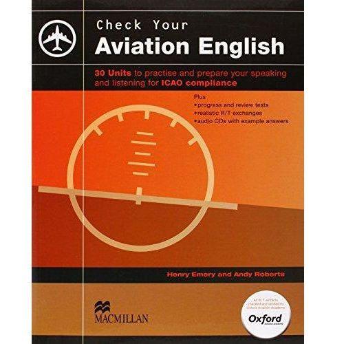 Książki do nauki języka, Check Your Aviation English (opr. miękka)
