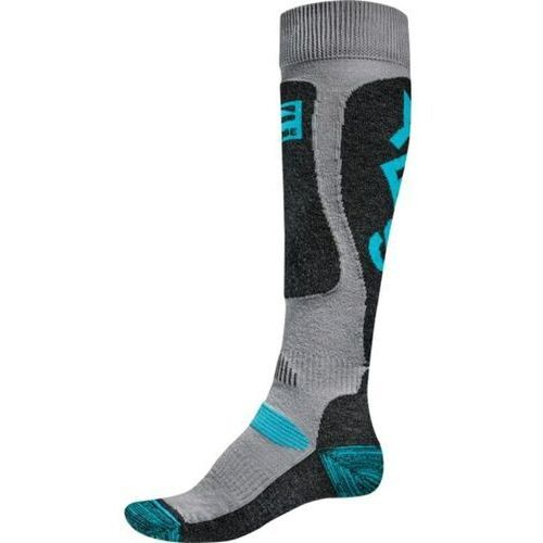 Odzież do sportów zimowych, skarpetki GLOBE - Yes/Globe Pow Pow Sock Grey/Blue (GREYBLUE) rozmiar: L/XL