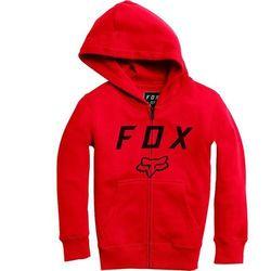 bluza FOX - Youth Legacy Moth Zip Fleece Dark Red (208) rozmiar: YS