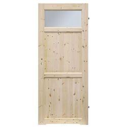 Drzwi z podcięciem Radex Lugano 80 prawe sosna surowa