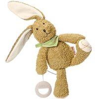 Pluszaki zwierzątka, Käthe Kruse Muzyczny królik Pino, brązowy, 0187413 Darmowa wysyłka i zwroty