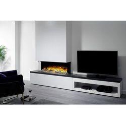 Kominek wolnostojący Flamerite Fires Tropo 1000 CB Link z szafką pod TV. Efekt płomienia Radia Flame - PROMOCJA
