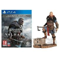 Akcesoria do PlayStation 4, Assassin's Creed Valhalla Edycja Ultimate + Figurka Eivor PS4