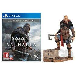 Assassin's Creed Valhalla Edycja Ultimate + Figurka Eivor PS4