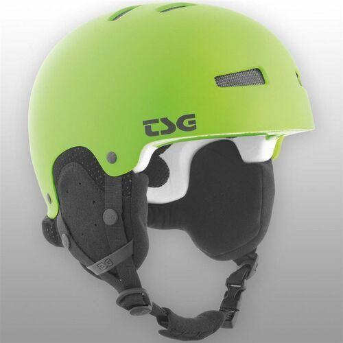 Kaski i gogle, kask TSG - gravity youth solid color satin lime green (170) rozmiar: XXS/XS