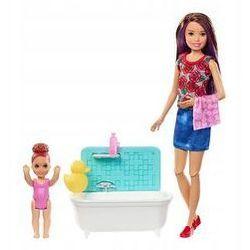 Barbie Zestaw Opiekunka Skipper + 2 lalki Mattel (skipper + wanna)