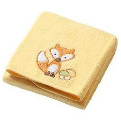 BabyOno Ręcznik kąpielowy frotte 140x70: Kolor - Żółty