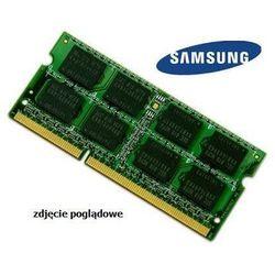 Pamięć RAM 2GB DDR3 1333MHz do laptopa Samsung N Series Netbook NC110 2GB_DDR3_SODIMM_1333_109PLN (-0%)
