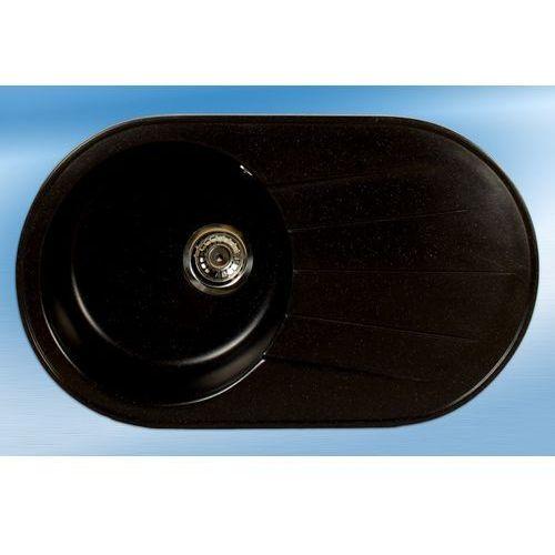 Zlewozmywak hydra czarny metalik 08m marki Brenor