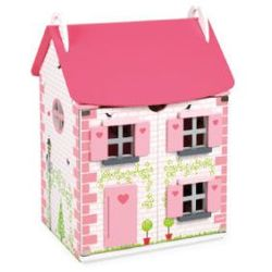 JANOD Domek dla lalek z meblami