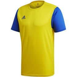 Koszulka męska adidas Estro 19 Jersey żółto-niebieska DP3241