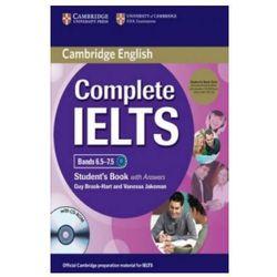 Complete IELTS Bands 6.5-7.5. Podręcznik z Kluczem + CD-ROM + CD (opr. miękka)