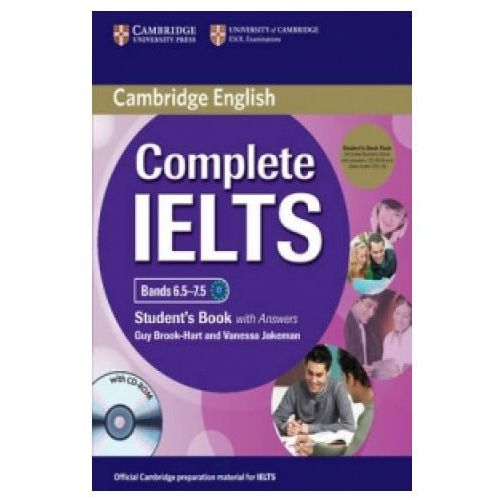 Książki do nauki języka, Complete IELTS Bands 6.5-7.5. Podręcznik z Kluczem + CD-ROM + CD (opr. twarda)