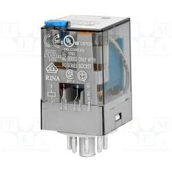 Przekaźnik 2CO 10A 110V DC Finder 60.12.9.110.0040